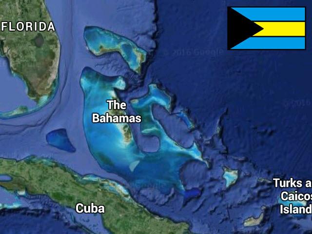 BahamasMapFlag