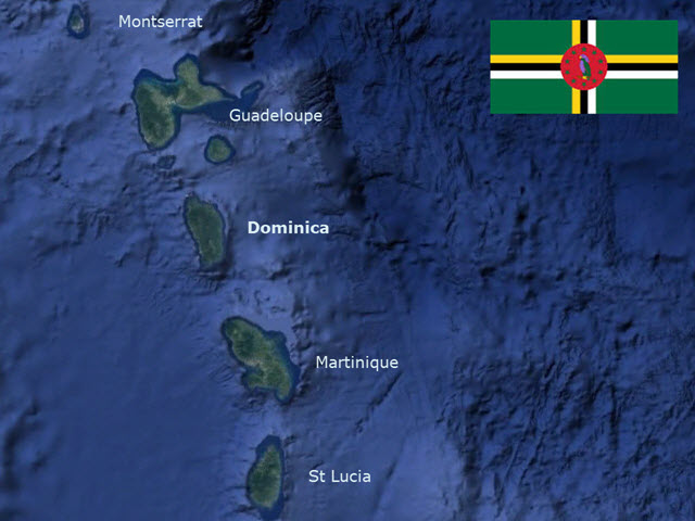 DominicaMapFlag